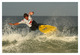 Surfeur en action